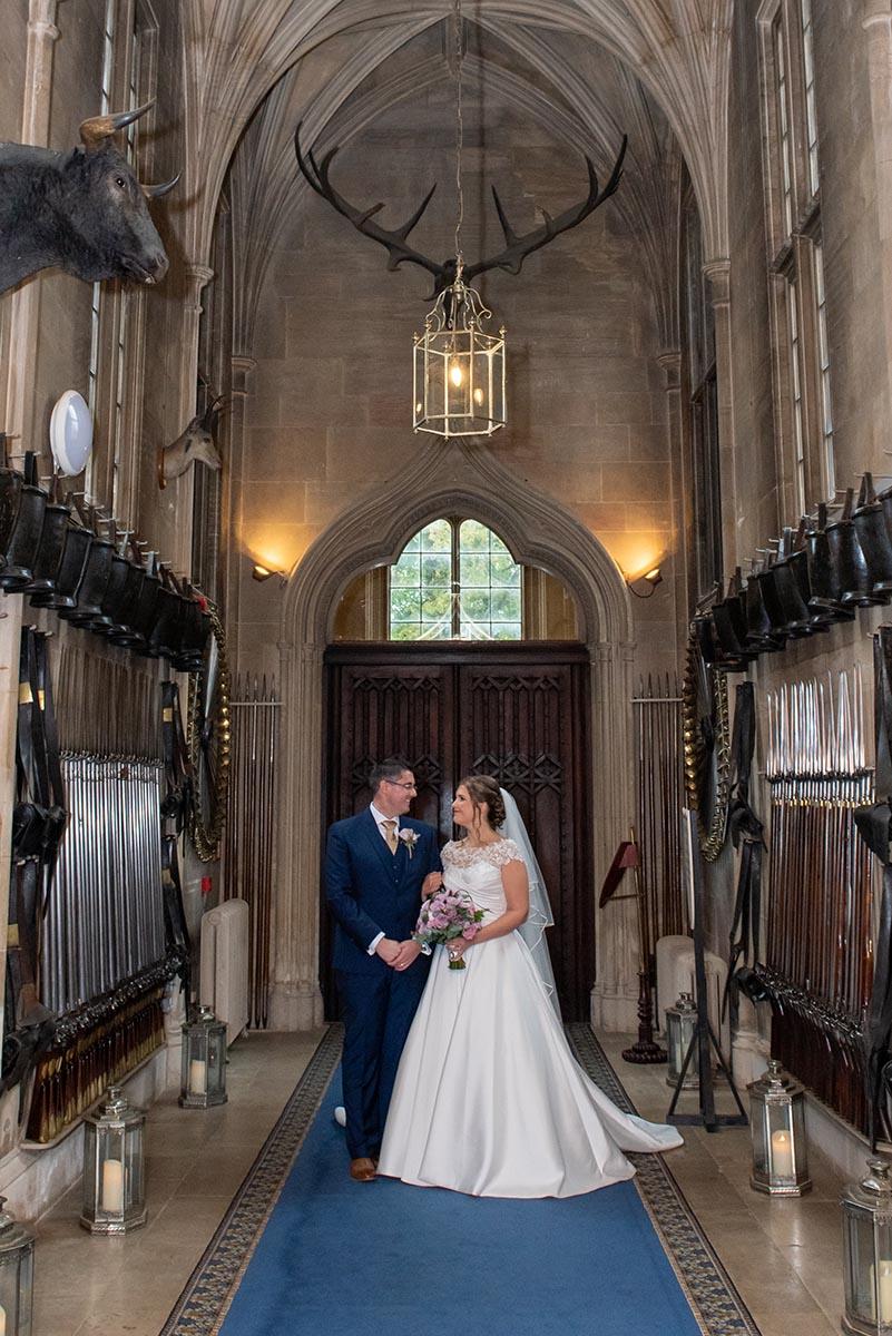 Belvoir-Castle-Wedding-Armoury